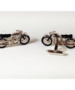 vintage motocycle cufflinks
